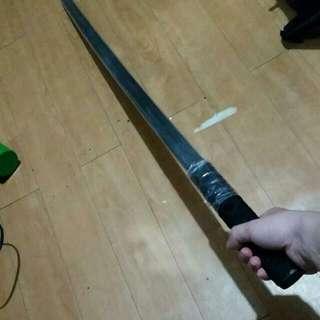 黑色實木刀