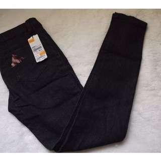 Penshoppe Black Skinny Jeans Size 28