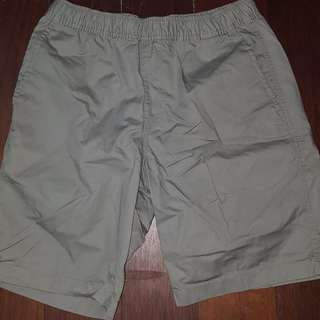 Beige  Uniqlo brand shorts