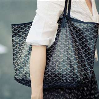 *price drop* Replica Goyard Tote Black On Black - Amazing Quality