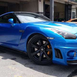 NISSAN GT-R35 For Rent