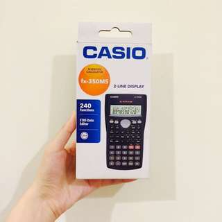 Casio 工程計算機 fx-350MS