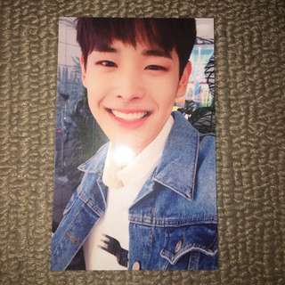 victon - byungchan voice to new world photocard