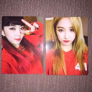 4minute act.7 photocards