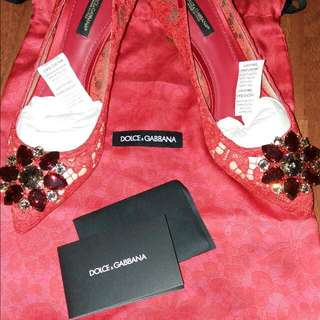 Dolce & Gabbana Belluci Kitten Heels 6.5cm