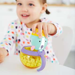 Skip Hop Zoo Snack Cup | Travel Food Storage - Unicorn