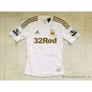 2012/13 SWANSEA CITY 100 YRS HOME SHIRT S/S 24 KI.S.Y - BNWT