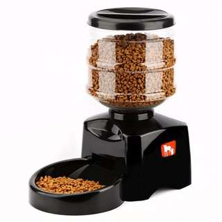 Pet Food Dispenser / Feeder With Voice Recording Function / Dog / Cat / Puppy / Kitten