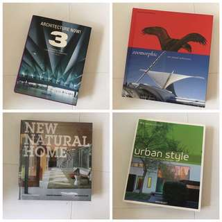 Mostly Architecture Books