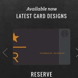 starbucks reserve store card