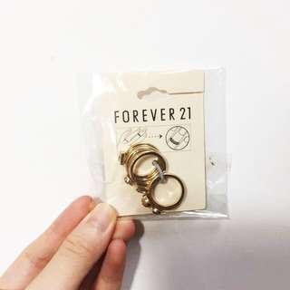 贈)Forever 21 戒指組