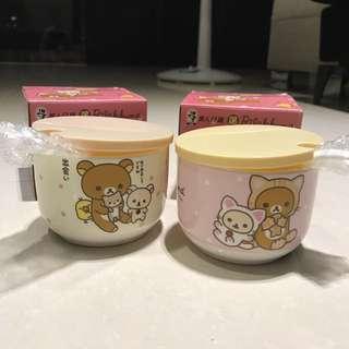 拉拉熊造型萬用罐