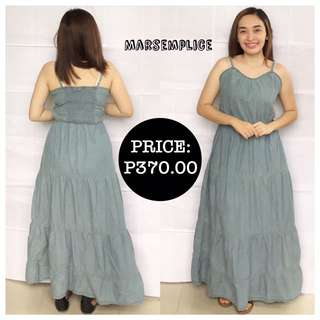 Esmara Chambray Long Dress