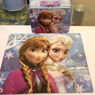 Frozen Puzzle(二手)
