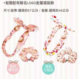 Hello kitty 髮帶 粉色櫻花款