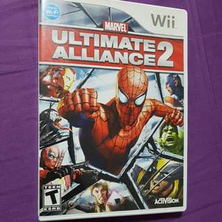 Wii Game Marvel Ultimate Alliance 2