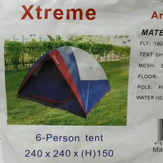 6-person Tent For Camping