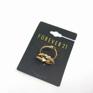 🚚 Forever 21 戒指套組 三件