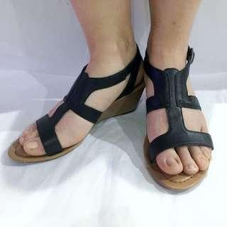 CLARKS sandals wedges