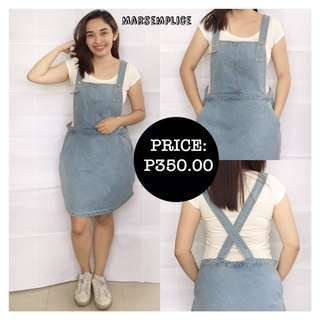 Okeysi Denim Jumpskirt