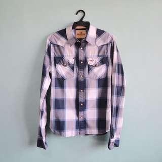 AUTHENTIC Hollister Plaid Button Down Shirt