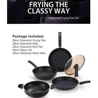 Happycall Frying Pan Set