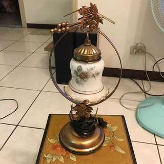 歐式風格檯燈 復古風 老物品 吊燈