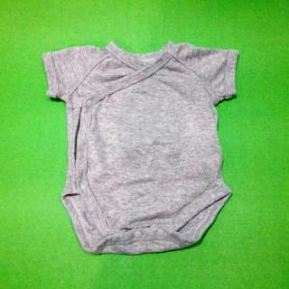 GENTLY USED Uniqlo Baby Onesie - SOLID GRAY