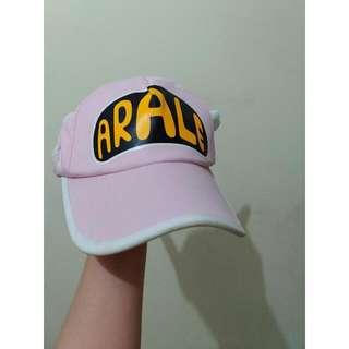 Topi Arale Warna Pink / Merah Muda