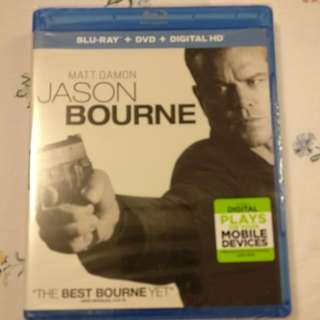 Blu-ray Disc - Jason Bourne (Matt Damon) New