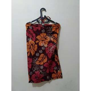 Halter Neck Dress Bali Size S - M
