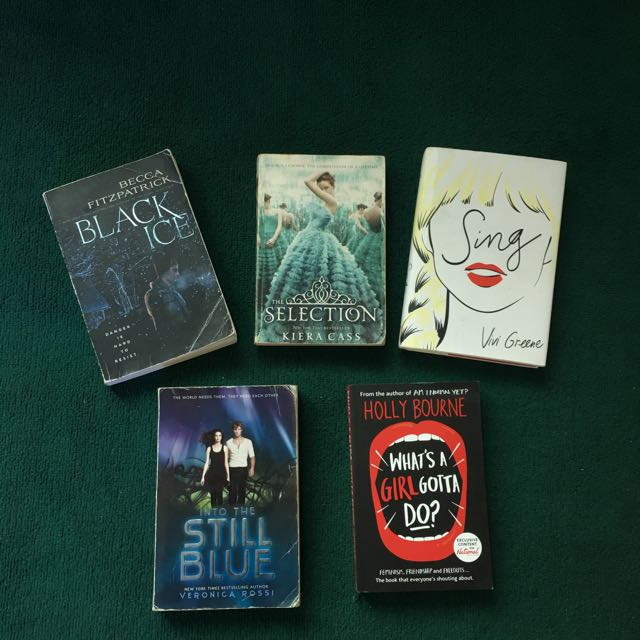 5 Books For Only 600 Pesos
