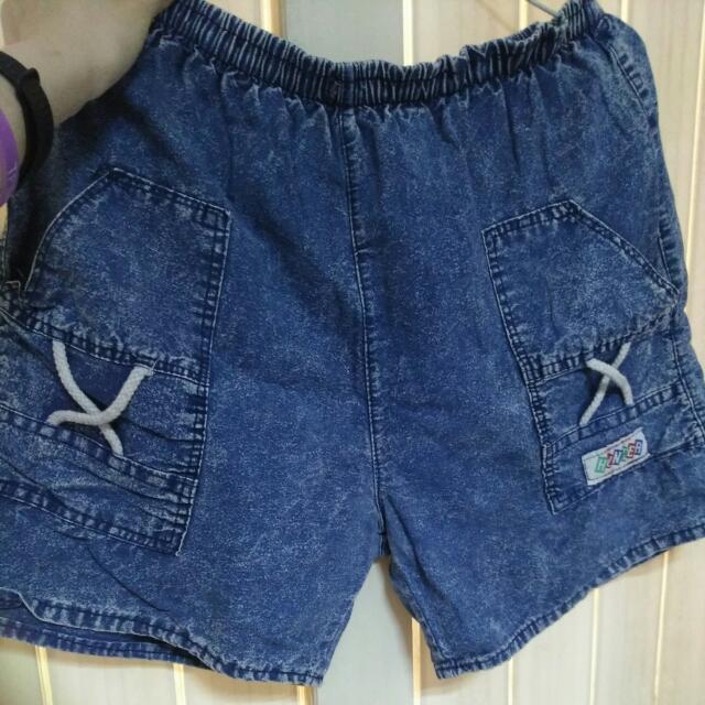 牛仔短褲#交換最划算#七月免購物直接送