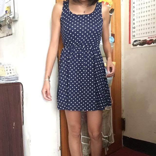 點點洋裝 裙