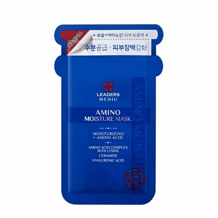 全新現貨 韓國 Leaders MEDIU 氨基酸保濕面膜 10片/盒
