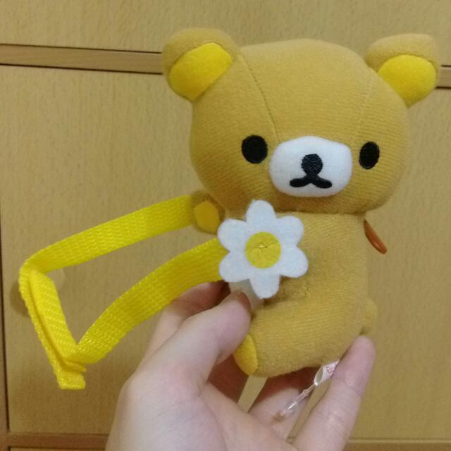 環抱花花系列 可愛景品 可抱住S號娃娃 Rilakkuma 拉拉熊 懶懶熊 輕鬆熊 鬆弛熊 啦啦熊