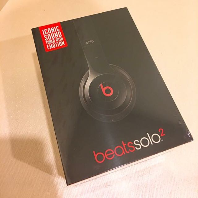 全新 Beats Solo2 魔聲 耳罩式耳機 線控