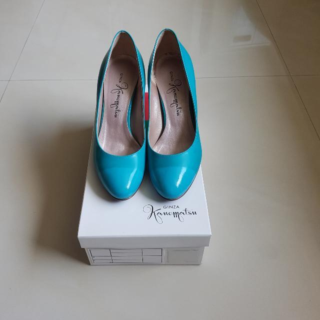 日本製 Ginza Kanematsu 高跟鞋 SIZE 21.5D