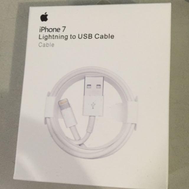 原廠 Iphone 充電線