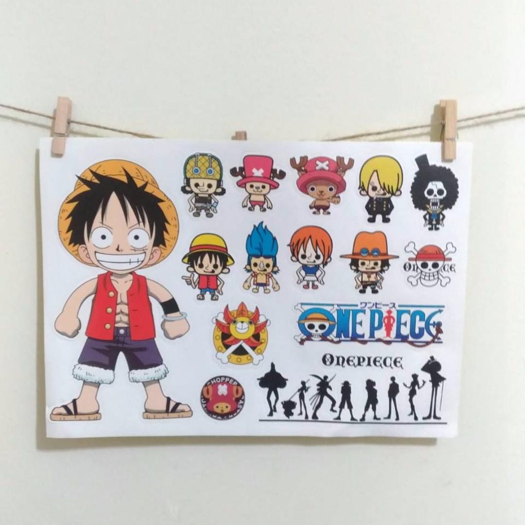 海賊王 one piece 大張貼紙
