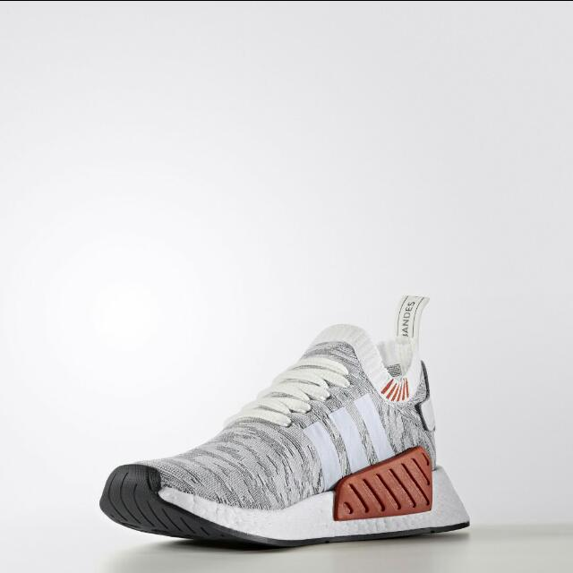 best sneakers a8399 b9bed Adidas NMD R2 primeknit Running White, Men's Fashion ...
