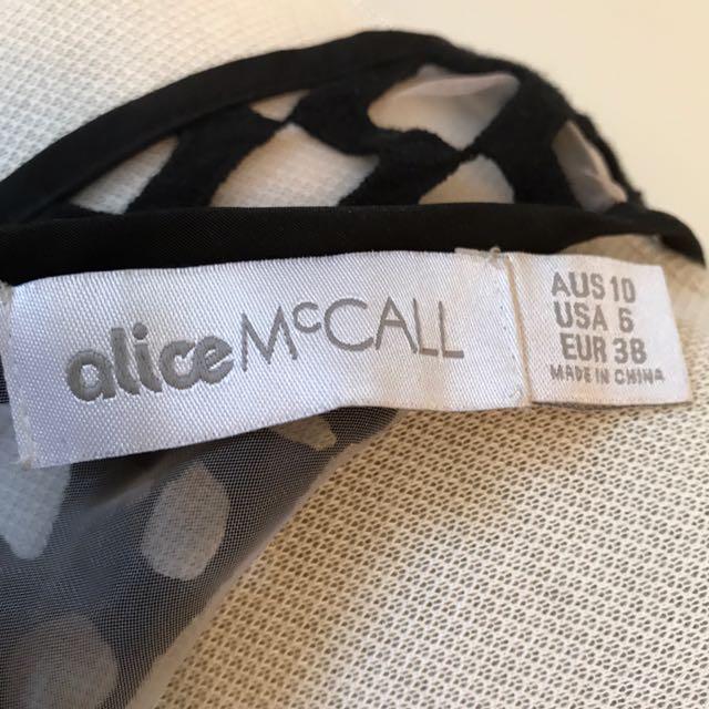 ALICE McCALL Size 10 Dress