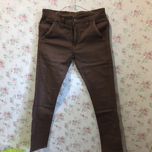 April Pants Choco Size S (28-29)
