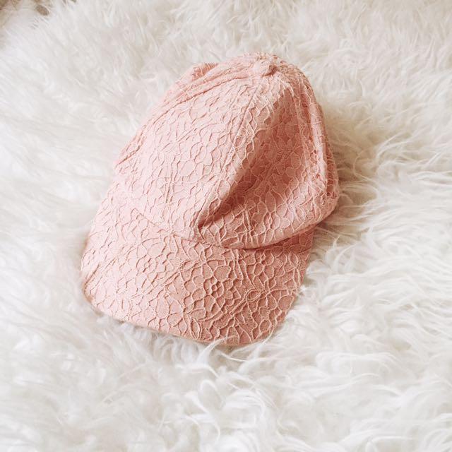 ASOS Pastel Pink Cap