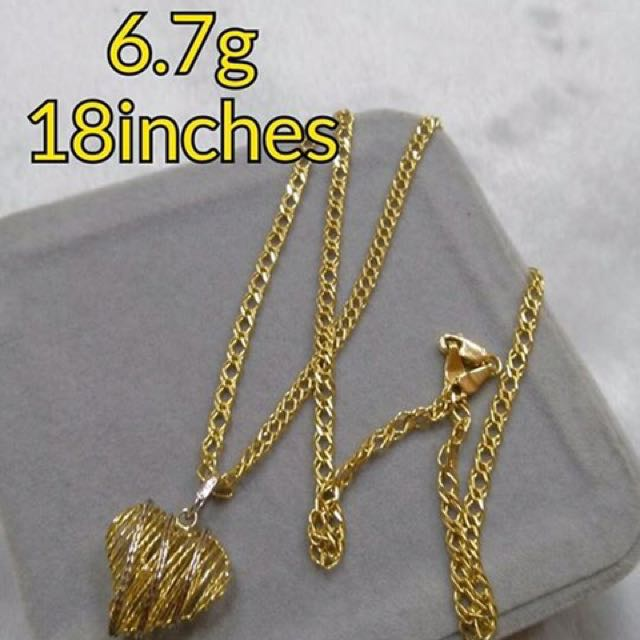 Authentic 18K SD Gold Necklace