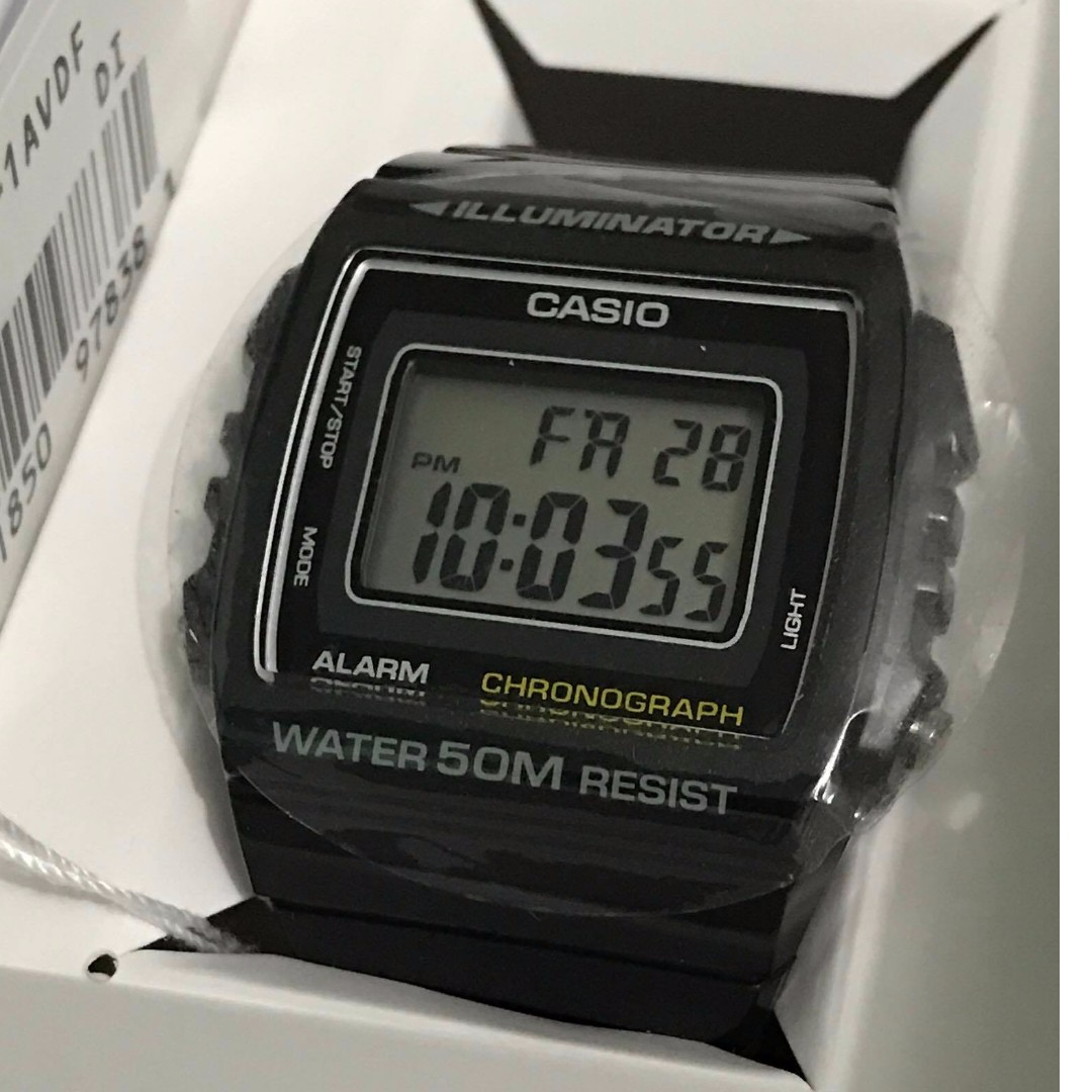 authentic casio watch black 3224 women s fashion watches on rh ph carousell com Casio Digital Watch Casio Digital Watch