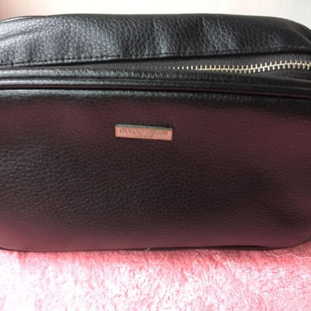 Authentic Giorgio Armani Parfums Clutch Bag