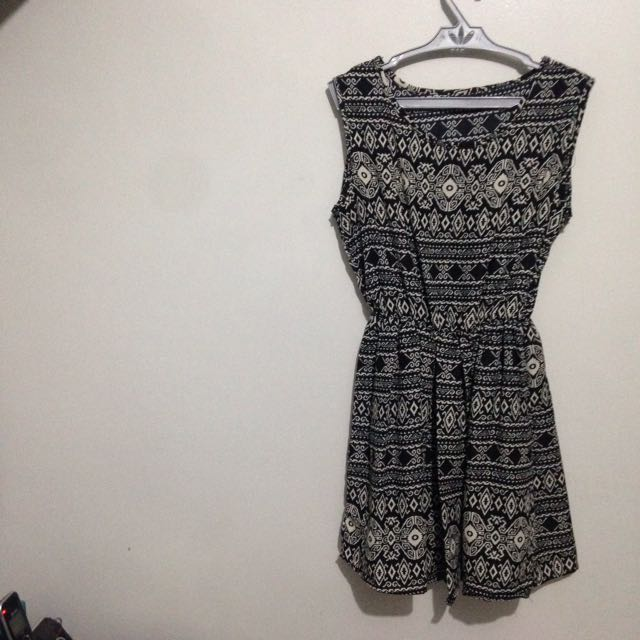 Aztec Mini Dress