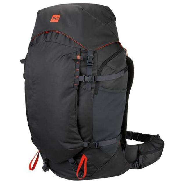 BACKPACK 75 LITERS FORGE - MOUNTAIN EQUIPMENT CANADA. #MEC #Trekking