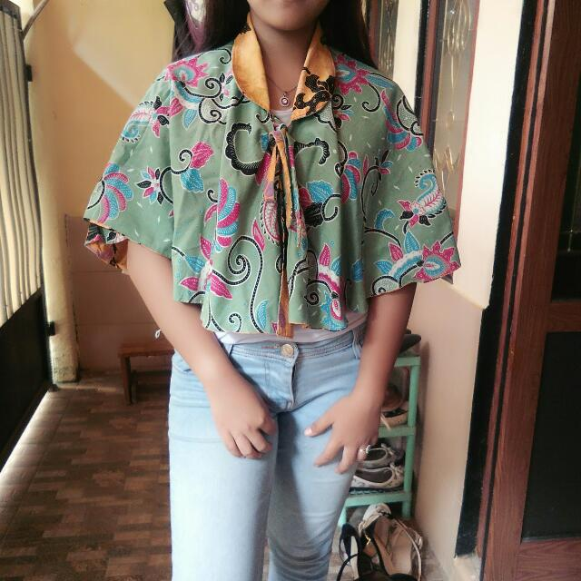 Baju Batik Batwing